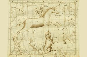 Monoceros Canis Major and Minor Navis Lepus by Sir John Flamsteed