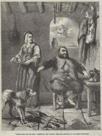 Sancho Panza and His Wife