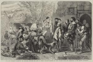 Sir John Falstaff Examining the Recruits Provided for Him by Justice Shallow by Sir John Gilbert