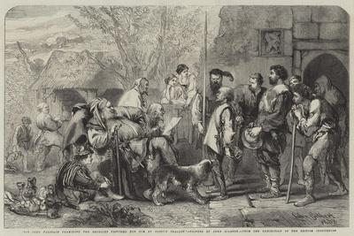 Sir John Falstaff Examining the Recruits Provided for Him by Justice Shallow