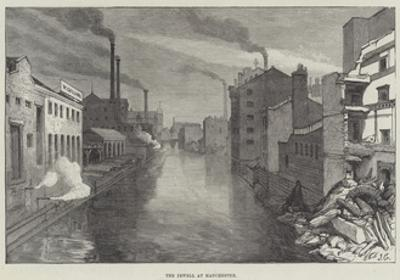 The Irwell at Manchester