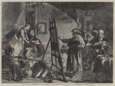 The Studio of Rembrandt
