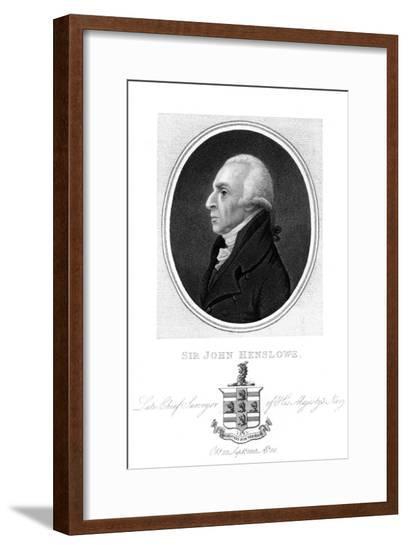 Sir John Henslow--Framed Giclee Print