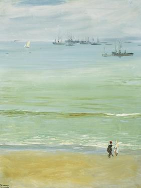 A Calm Day, Tangier Bay by Sir John Lavery