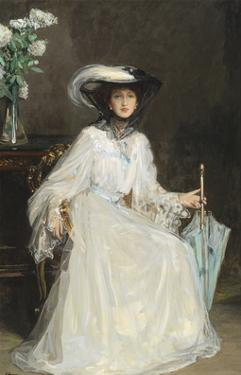 Lady Evelyn Farquhar by Sir John Lavery