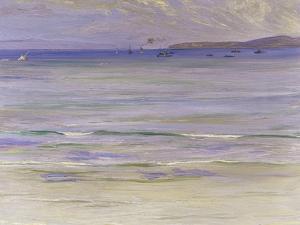 Tangier Bay, 1920 by Sir John Lavery