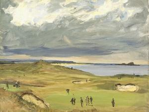 The Golf Links, North Berwick, 1919 by Sir John Lavery