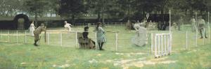 The Tennis Party by Sir John Lavery