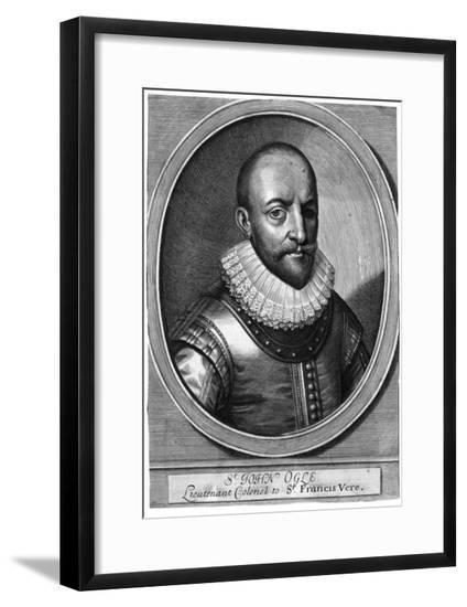 Sir John Ogle, Military--Framed Giclee Print