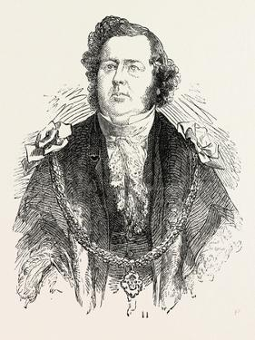 Sir John Potter, Mayor of Manchester, UK