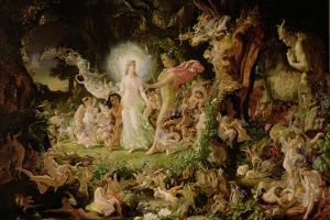 The Quarrel of Oberon and Titania, 1849 by Sir Joseph Noel Paton