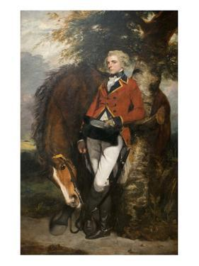 Captain George H. Coussmaker by Sir Joshua Reynolds