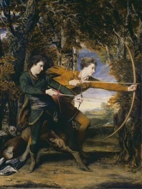 Colonel Acland and Lord Sydney: The Archers by Sir Joshua Reynolds