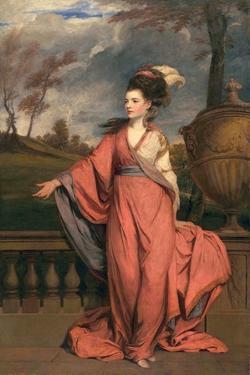 Jane Fleming, Later Countess of Harrington, C.1778-79 by Sir Joshua Reynolds