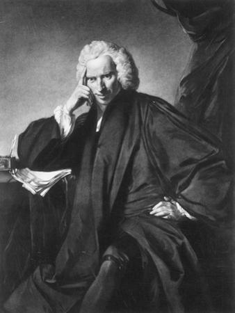 Laurence Sterne, Engraved by Edward Fisher