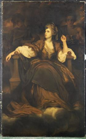 Mrs. Siddons as 'The Tragic Muse'