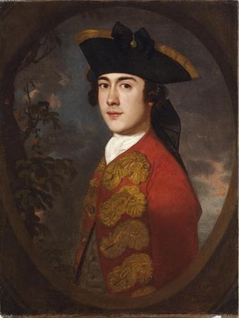 Portrait of a Gentleman in a Red Jacket