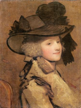 Portrait of a Woman in a Black Hat