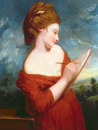 Portrait of Elizabeth Johnson, C.1780