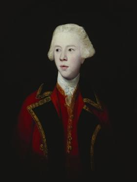 Portrait of George Augustus, 3rd Viscount Howe, Half-Length, Wearing the Uniform of the 1st Guard by Sir Joshua Reynolds