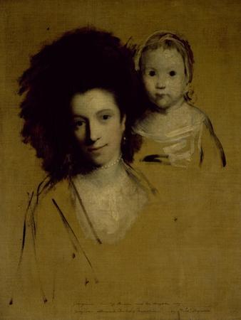 Studies of Georgiana, Duchess of Devonshire and Her Daughter Lady Georgiana Cavendish