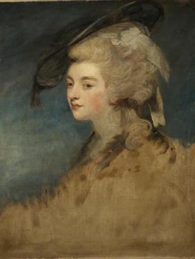 Study of Georgiana Spencer by Sir Joshua Reynolds