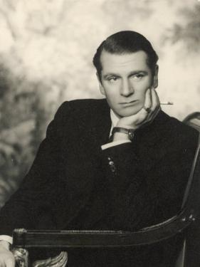 Sir Laurence Olivier, British Actor of Stage and Screen