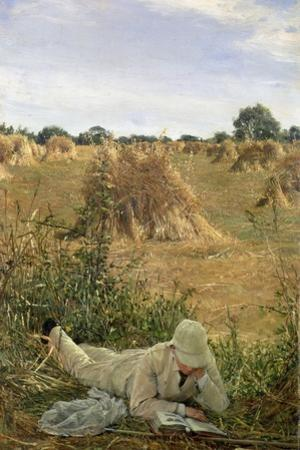 94 Degrees in the Shade, 1876 by Sir Lawrence Alma-Tadema