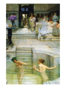A Favorite Tradition by Sir Lawrence Alma-Tadema