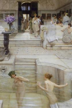 A Favourite Custom by Sir Lawrence Alma-Tadema