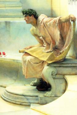 A Reading of Homer, Detail [2] by Sir Lawrence Alma-Tadema