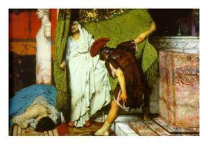 A Roman Emperor AD 41 by Sir Lawrence Alma-Tadema