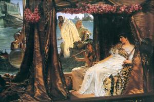 Antony and Cleopatra by Sir Lawrence Alma-Tadema