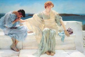 Ask Me No More by Sir Lawrence Alma-Tadema