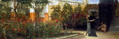 Corner of a Roman Garden, 1878 by Sir Lawrence Alma-Tadema