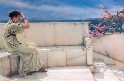 Expectations by Sir Lawrence Alma-Tadema