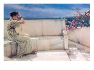 Expectations by Sir Lawrence Alma-Tadema