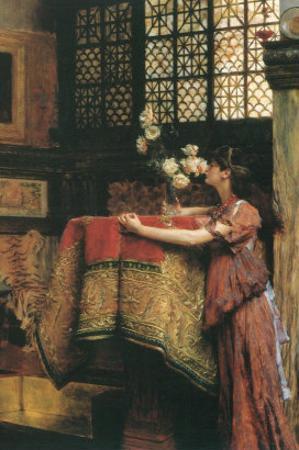 In my Studio by Sir Lawrence Alma-Tadema