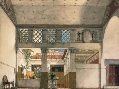 Interior of Gaius Marcius's House by Sir Lawrence Alma-Tadema