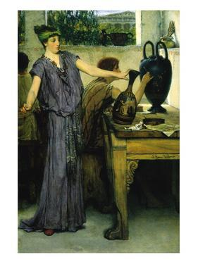 Pottery Painting by Sir Lawrence Alma-Tadema