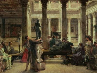 Roman Art Lover, 1870 by Sir Lawrence Alma-Tadema