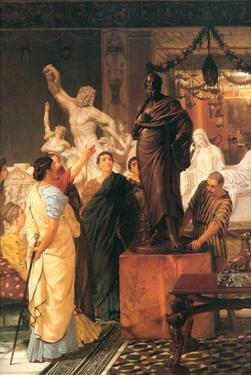 Sculpture Gallery by Sir Lawrence Alma-Tadema