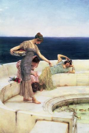 Silver Favourites, C.1903 by Sir Lawrence Alma-Tadema