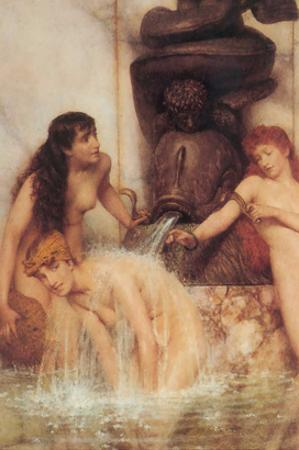 Strigils and Sponges by Sir Lawrence Alma-Tadema