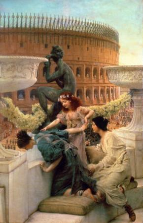 The Colosseum by Sir Lawrence Alma-Tadema