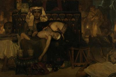 The Death of the Pharaohs Firstborn Son, 1872 by Sir Lawrence Alma-Tadema