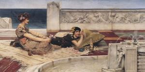 The Fountain by Sir Lawrence Alma-Tadema