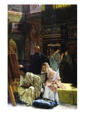 The Gallery by Sir Lawrence Alma-Tadema