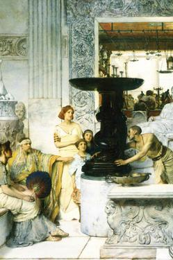 The Sculpture Gallery by Sir Lawrence Alma-Tadema