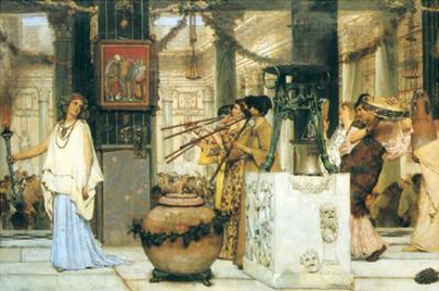 The Vintage Festival by Sir Lawrence Alma-Tadema